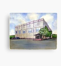 The Office Pam's Painting of Dunder Mifflin Canvas Print