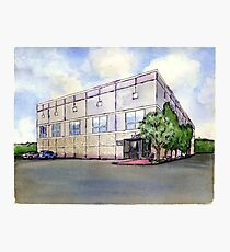 The Office Pam's Painting of Dunder Mifflin Photographic Print