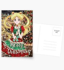 Merry Xmas Usagi! Postcards