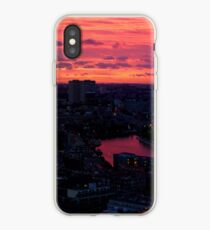 Rotterdam at Sunset, from Euromast iPhone Case