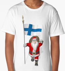 Santa Claus Visiting Finland Long T-Shirt