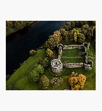 Old Inverlochy Castle Fort William  Photographic Print