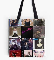 Pat Benatar Album Covers Tote Bag