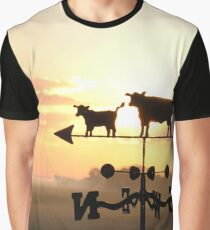 Country Sunrise Graphic T-Shirt