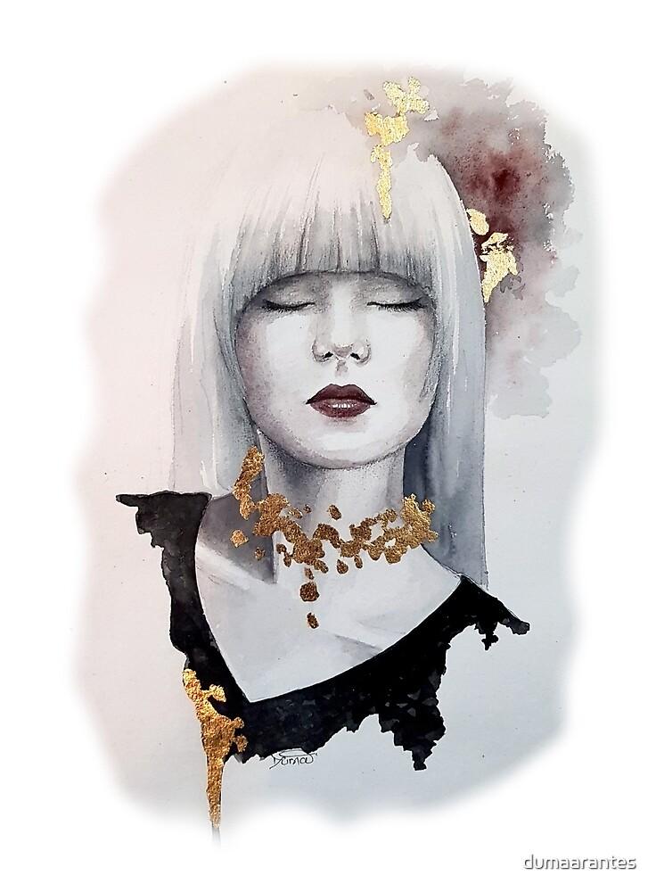 Gold Girl #8 - Duma by dumaarantes