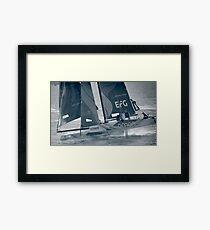 Extreme Sailing - Team Oman Framed Print