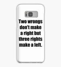 Caddyshack - Two Wrongs Samsung Galaxy Case/Skin