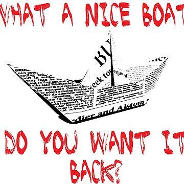 paper boat by fenix92