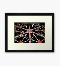Catherine Wheel Framed Print