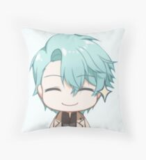 mystic messenger: v emoticon (+ larger design) Throw Pillow