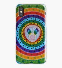 Psychédélique alien rainbow . iPhone Case/Skin