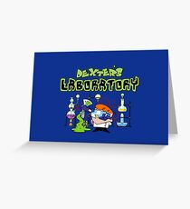 Chemist Dex Greeting Card