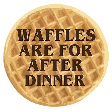 After Dinner Waffles by LisaDylanArt