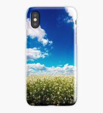 Sodbuster Radish Field - Oregon iPhone Case/Skin