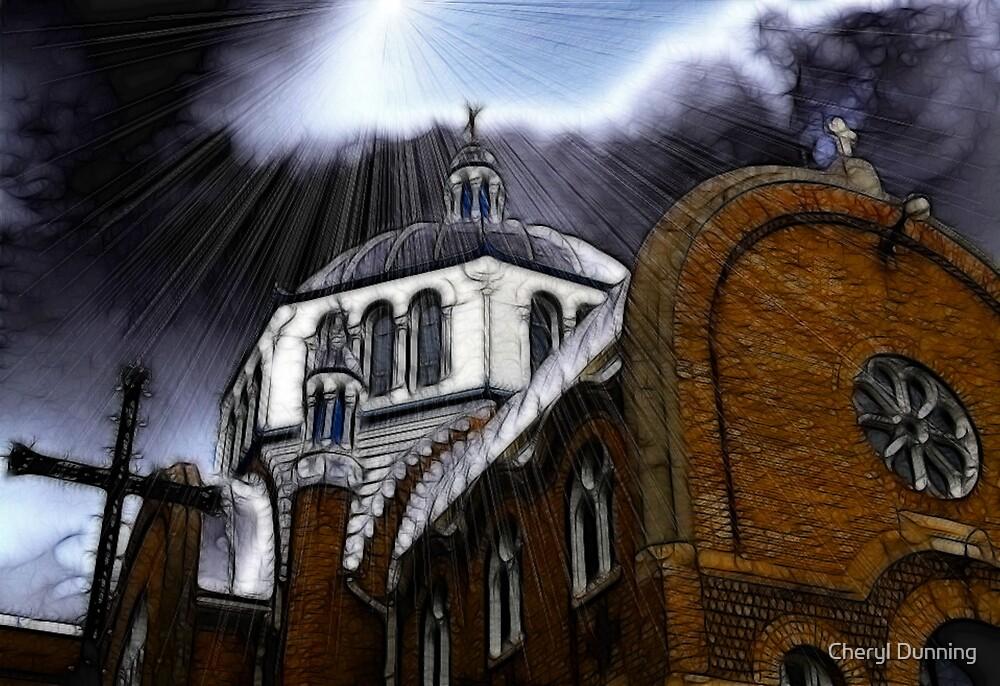 dark church 2 by Cheryl Dunning