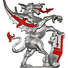 The Dragon - Symbol of the City of London  by Christine Till  @    CT-Graphics