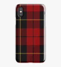 00026 Wallace Clan/Family Tartan iPhone Case/Skin