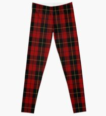 00026 Wallace Clan/Family Tartan Leggings
