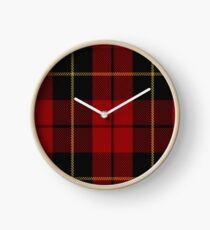 00026 Wallace Clan/Family Tartan Clock