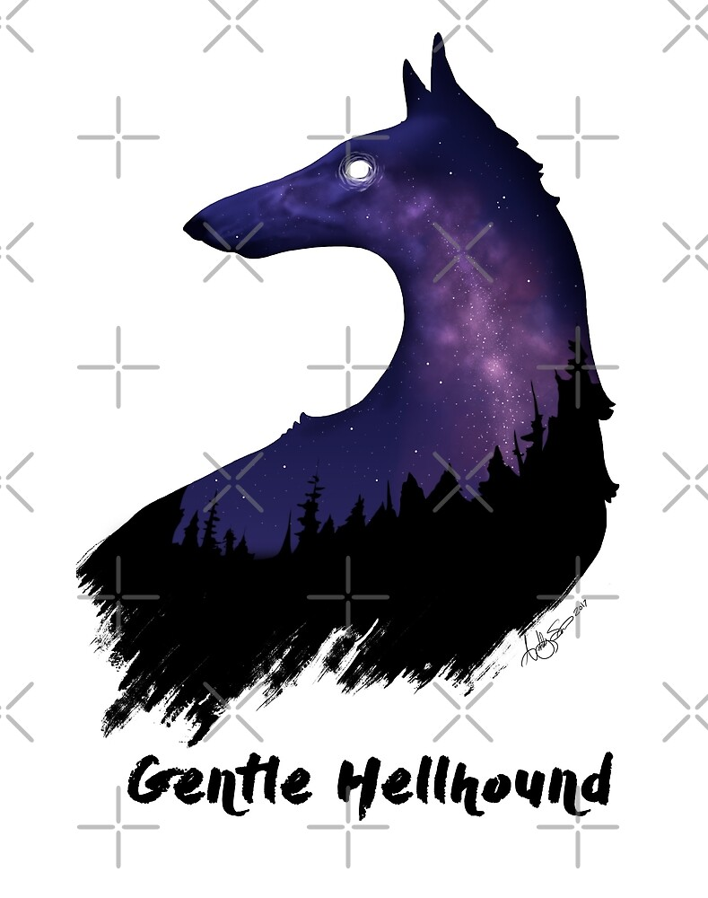 Gentle Hellhound  by Ashley Siemon