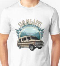 Van Life Retro Conversion Design Unisex T Shirt