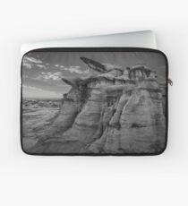 Bisti Badlands in Black and White Laptop Sleeve