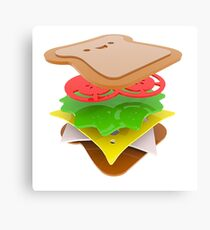sandwich Canvas Print