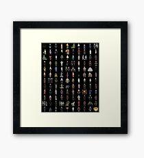 BTVS - Mini Monsters Complete Series Framed Print