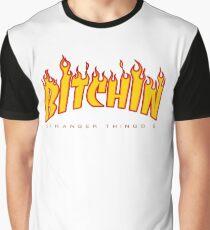 Bitchin - Stranger Things 2 (Thrasher) Graphic T-Shirt