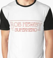 Bob Newby, Superhero Graphic T-Shirt