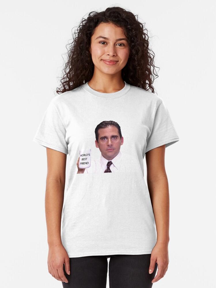 Vista alternativa de Camiseta clásica El mejor amigo del mundo