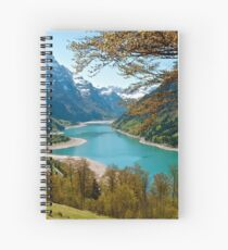 Swiss Lake Spiral Notebook