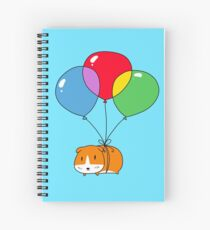 Balloon Guinea Pig Spiral Notebook