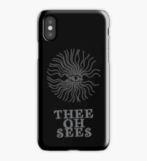 Thee Oh Sees  iPhone Case