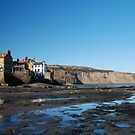 Robin hoods Bay  from the bay by dougie1