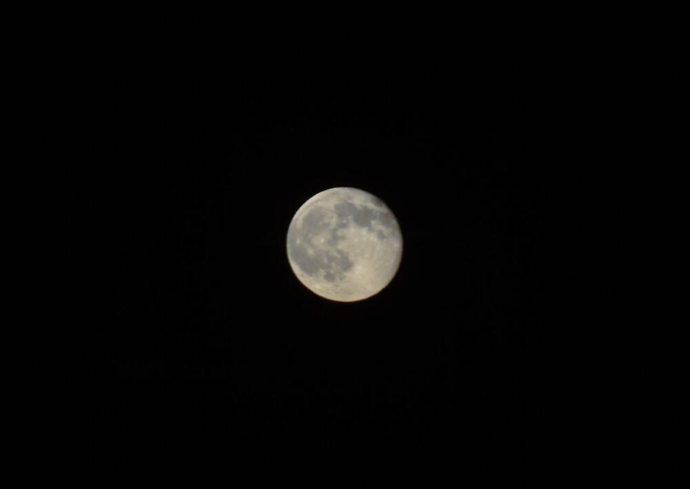 Moon Dark Sky by andreagoth