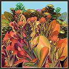 XD FRACTAL FLOWER GARDEN by Günter Maria  Knauth