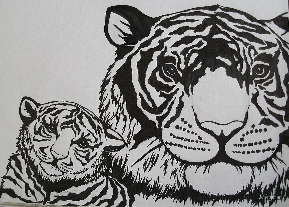 Tiger Tiger by Magicat