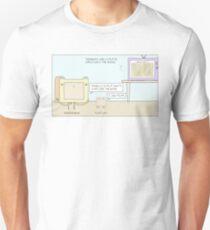 Perkins Bear and Flat Cat Unisex T-Shirt