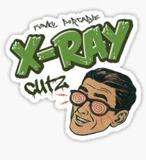 """X-Ray Cutz 7"""" vinyl record cover Sticker"""