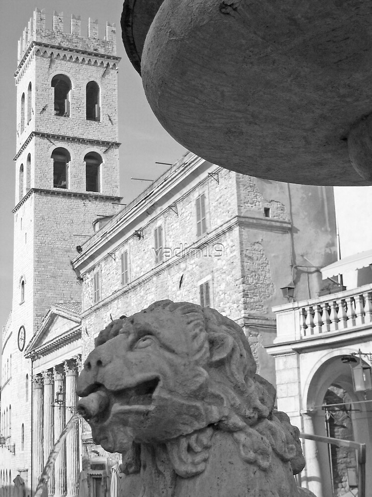 Piazza del Comune, Assisi, Italy by vadim19