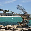 Sculptures By Sea,Bondi,NSW 2017-SciFi Dragonfly by muz2142