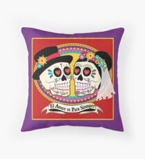 Los Novios (Spanish) Throw Pillow