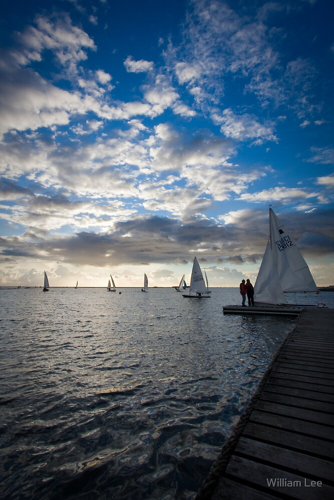 West Kirby Sailing by William Lee