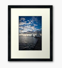 West Kirby Sailing Framed Print