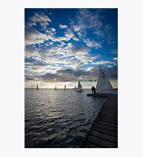 West Kirby Sailing Photographic Print