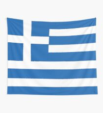 Flag of Greece Wall Tapestry