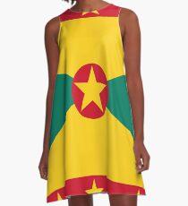 Flag of Grenada A-Line Dress d4dee09b5