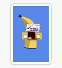 Bluth's Frozen Bananas Sticker