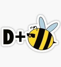 Drum & Bass (D=Bee) T-shirt Sticker